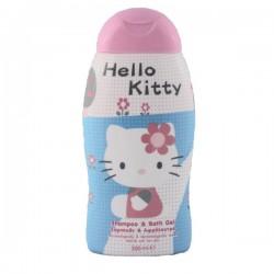 Choupinet - Flacon Gel douche Hello Kitty sur Le roi de la couche