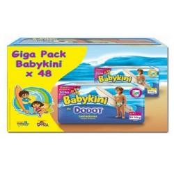 Dodot - Maxi Pack de 48 Couches de bains Baby Kini taille 3 sur Le roi de la couche