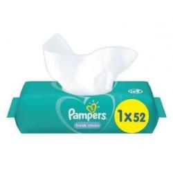 Pampers - Pack 52 Lingettes Bébés Fresh Clean sur Le roi de la couche