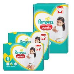 Pampers - Mega pack 120 Couches Premium Protection Pants taille 5 sur Le roi de la couche