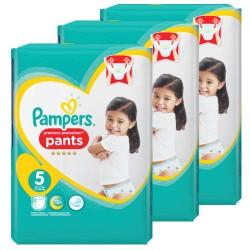 Pampers - Mega pack 160 Couches Premium Protection Pants taille 5 sur Le roi de la couche
