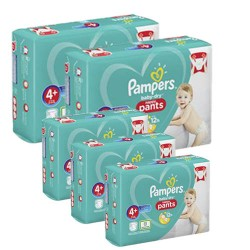 Pampers - Mega pack 175 Couches Baby Dry Pants taille 4+ sur Le roi de la couche
