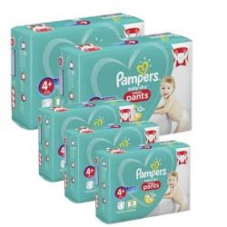 Pampers - Mega pack 140 Couches Baby Dry Pants taille 4+ sur Le roi de la couche