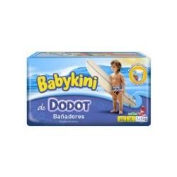 Dodot - Pack 12 Couches de bains Maillot de bain taille 44 sur Le roi de la couche