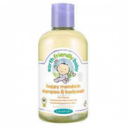 EFB - Earth Friendly Baby - Flacon Gel douche Bio Mandarine sur Le roi de la couche