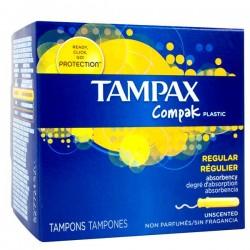 Tampax - Pack 80 Tampons Compak taille regular avec applicateur sur Le roi de la couche