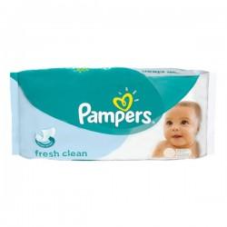 Pampers - Pack 64 Lingettes Bébés Fresh Clean sur Le roi de la couche