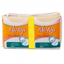 Always - Pack économique 144 Serviettes hygiéniques Simply Fits taille normal plus sur Le roi de la couche