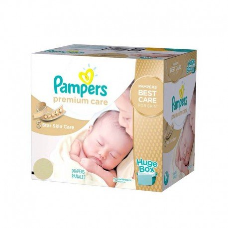 176 couches pampers premium care taille 1 petit prix sur - Achat couches pampers en gros pas cher ...