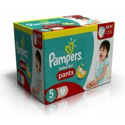Pampers - Pack économique 210 Couches Baby Dry Pants taille 5 sur Le roi de la couche