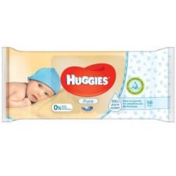 Huggies - Pack 72 Lingettes Bébés Pure sur Le roi de la couche