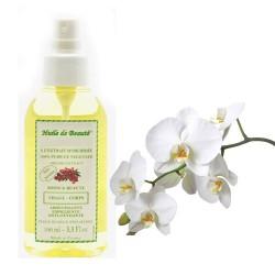 Huile de beauté à l'extrait d'orchidée 100% pur et végétal sur Le roi de la couche