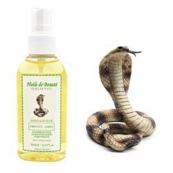 Huile de beauté de Serpent Naga 100% Naturelle sur Le roi de la couche