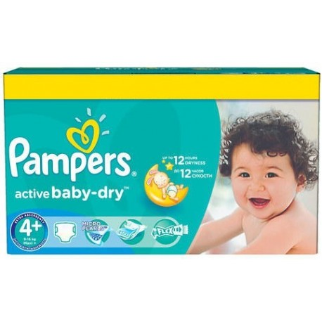 112 Couches Pampers Active Baby Dry Taille 4 A Bas Prix Sur Le Roi