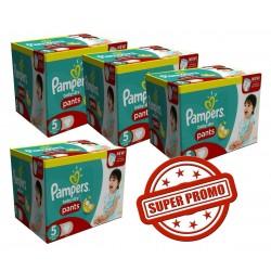 Pampers - Giga Pack Jumeaux 252 Couches Baby Dry Pants taille 5 sur Le roi de la couche