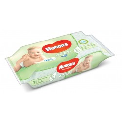 Huggies - Pack 56 Lingettes Bébés Natural Care sur Le roi de la couche