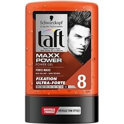 Taft Gel 300 ml Maxx Power N°8 sur Le roi de la couche
