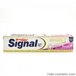 Signal - Dentifrice Integral 8 Resist+ sur Le roi de la couche