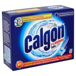 Calgon Tabs 50 Powerball Regular 2en1 (650 gr) sur Le roi de la couche