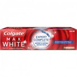 Colgate 75 ml Max White Expert Complete Mild Mint sur Le roi de la couche