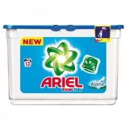 Ariel Liq Tabs 13 Excel Tabs Alpine (361,4 gr) sur Le roi de la couche