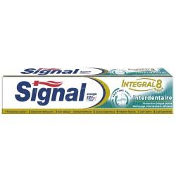 Signal - Dentifrice Integral 8 Interdentaire sur Le roi de la couche