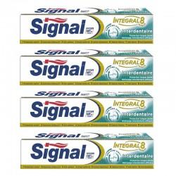 Signal - Lot 4 Dentifrices Integral 8 Interdentaire sur Le roi de la couche
