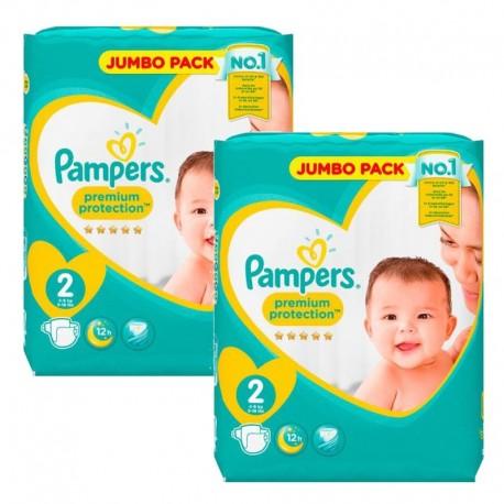Pampers 136 Couches New Baby Premium Protection taille 2 sur Le roi de la couche