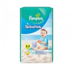 Pampers - Pack 12 Couches de bains Splashers taille 3 sur Le roi de la couche