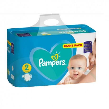 Pampers - Pack 94 Couches Active Baby Dry taille 2 sur Le roi de la couche