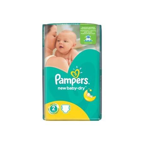 Pampers - Mega pack 144 Couches New Baby Dry taille 2 sur Le roi de la couche