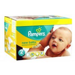 Pampers - Pack jumeaux 864 Couches New Baby Dry taille 2 sur Le roi de la couche