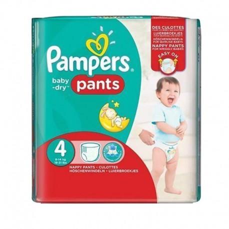Pampers - Pack 88 Couches Baby Dry Pants taille 4 sur Le roi de la couche