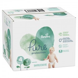 Pampers - Mega pack 168 Couches Pure Protection taille 4
