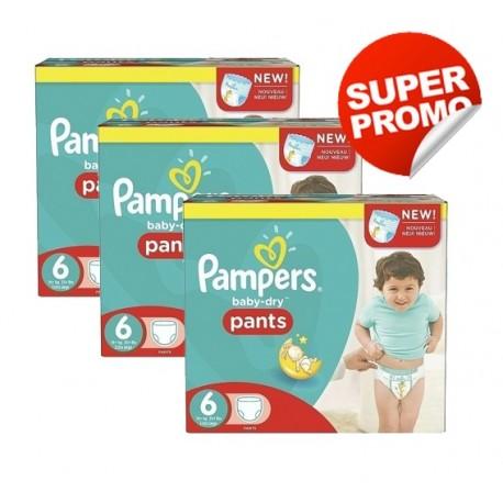 Pampers - Maxi giga pack 390 Couches Baby Dry taille 3 sur Le roi de la couche