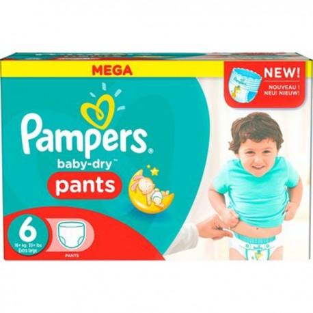 Pampers - Pack 49 Couches Baby Dry taille 4 sur Le roi de la couche