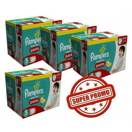 Pampers - Pack 98 Couches Baby Dry taille 4 sur Le roi de la couche