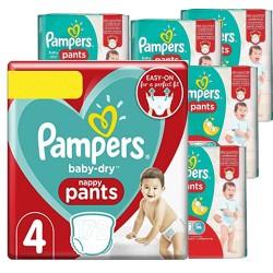 Pampers - Giga pack 228 Couches Baby Dry Pants taille 6 sur Le roi de la couche