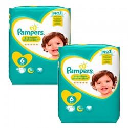 Pampers - Pack 82 Couches Baby Dry Pants taille 4 sur Le roi de la couche