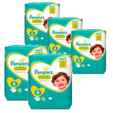 Pampers - Mega pack 164 Couches Baby Dry Pants taille 4 sur Le roi de la couche