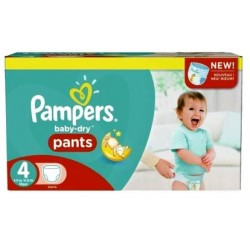 Pampers - Pack jumeaux 820 Couches Baby Dry Pants taille 4