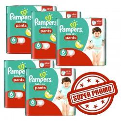 Pampers - Pack 31 Couches New Baby Premium Protection taille 6 sur Le roi de la couche