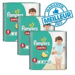 Pampers - Mega pack 120 Couches New Baby Premium Protection taille 6 sur Le roi de la couche