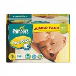 Pampers - Pack jumeaux 720 Couches New Baby Premium Protection taille 6 sur Le roi de la couche
