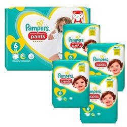 Pampers - Giga pack 240 Couches Premium Protection Pants taille 6 sur Le roi de la couche