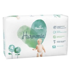 Pampers - Pack 19 Couches Harmonie taille 4