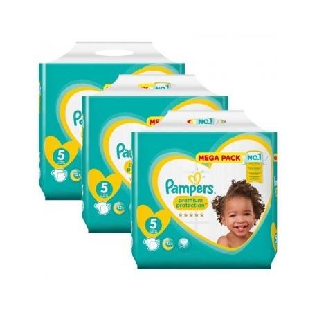 Pampers - Pack 47 Couches Premium Protection Pants taille 4 sur Le roi de la couche