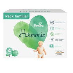 Pampers - Mega pack 133 Couches Harmonie taille 4