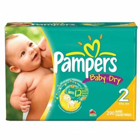 Pampers - Mega pack 132 Couches Premium Protection taille 1 sur Le roi de la couche