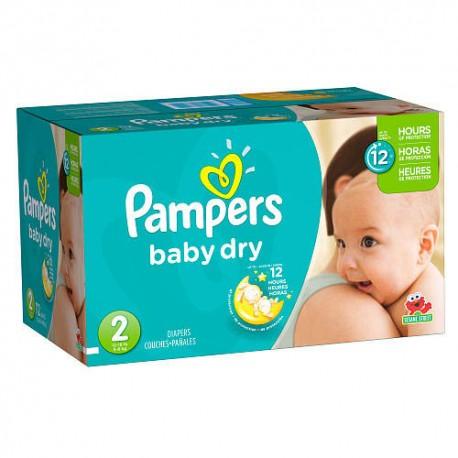 Pampers - Giga pack 264 Couches Premium Protection taille 1 sur Le roi de la couche